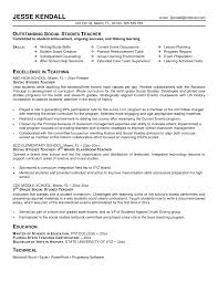Middle School Math Teacher Resume Pleasing Math Teacher Resume Examples About Middle School Sample 13