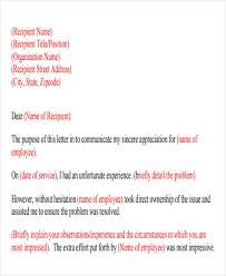 Business Formal Apology Letter Example