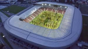 Football Stadium Design Software Austrias Wörthersee Stadium Planted With 300 European Trees