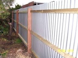 corrugated metal fence best fence images on corrugated metal fencing panels corrugated metal fence