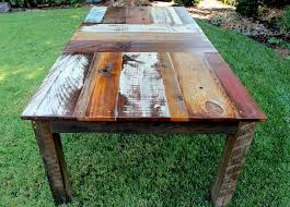25 best rustic wood dining table ideas on kitchen in reclaimed wooden dining tables
