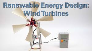 Designing Windmills Renewable Energy Design Wind Turbines Activity
