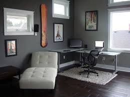Home office decorating Contemporary Cool Office Decorating Ideas For Men With True Beauty And Elegance Mens Office Interiors With Stevenwardhaircom Office Workspace Design Mens Office Interiors With White Rug