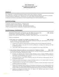 1 Year Experience Resume Sample Best of Sap Basis Resume Format Resume Samples For It Professionals And Sap