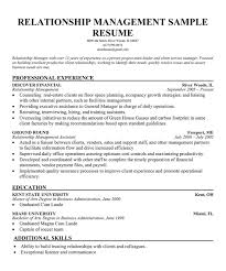 Relationship manager banking resume.