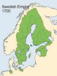 Map Of The Swedish Empire In 1700 Historical Maps Map
