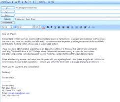 Spiffy Email Sample To Send Cover Letter Sending Resume Through
