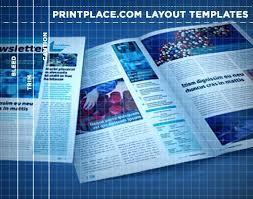 11x17 Newspaper Template 4 Column Inside Page 11 X 17 Newsletter Template Free Newspaper