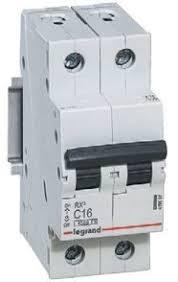 <b>Выключатель автоматический двухполюсный RX3</b> 4,5 кА C 20 А