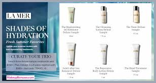 receive your choice of 3 pc gift with 150 la mer purchase