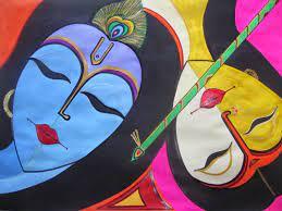 HD WALLPAPERS: Lord Radha Krishna Art ...