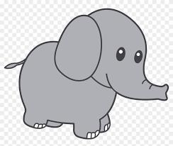 cute elephant clipart.  Clipart Clipart Elephant  Cute To