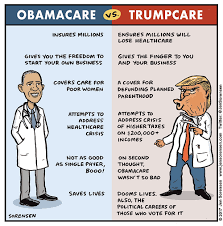 Difference Between Trumpcare And Obamacare Difference Between