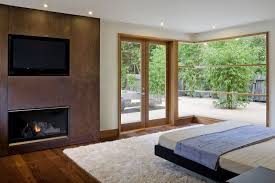 Small Gas Fireplace For Bedroom Warm Paint Accent Wall Colors Schemes Cozy Bedroom With Fireplace