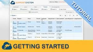 It has the facility to live chat and messaging. Osticket Support Ticketing System