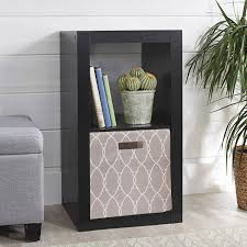 better homes and gardens fabric cube storage bin 12 75 x 12 75