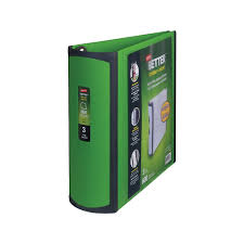 3in 3 Ring Binder Staples Better 3 Inch D 3 Ring View Binder Green 19936 892167
