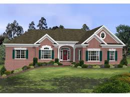 brick house plans. Modren Plans Stovall Park Brick Ranch Home Inside House Plans 0