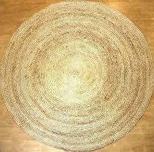 4 round jute rug 3 ft designs square 8 x