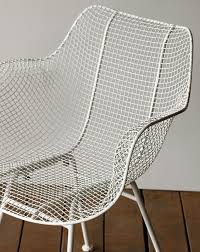 white wire chair. Fine White On White Wire Chair H
