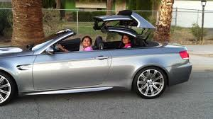 Coupe Series 2012 bmw m3 convertible : E93 BMW M3 Top Down - YouTube
