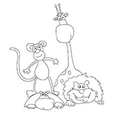 Free jungle coloring pages printable for kids and adults. Top 10 Free Printable Jungle Animals Coloring Pages Online