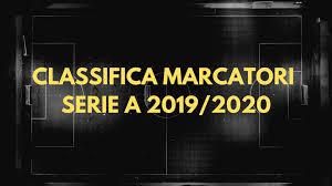 Classifica Aggiornata Marcatori di Serie A del Campionato di Calcio Italiano