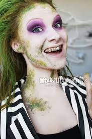 beetlejuice makeup d