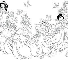 Little Princess Coloring Pages Princess Coloring Sheets Princess