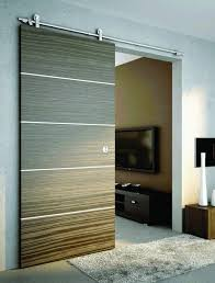 sliding door with open mechanism