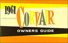 1960 1961 chevrolet corvair wiring diagram manual car monza van pickup 1961 corvair monza owner s manual reprint