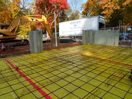 north haven ct 06473 re bar preparation for concrete slab pour