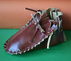 how to make the leather baby shoes