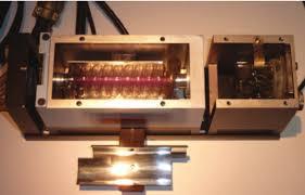 Korad's first commercial ruby laser, serial #001 of model RL-4KCS. The... |  Download Scientific Diagram