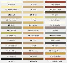 C Cure Grout Color Chart Prism Grout Color Chart Grout Stain Color Chart Roberts