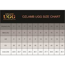 Ugg Childrens Size Chart Ozlamb Unisex 3 4 High Sheep Wool Ugg Boots Buy Mens Ugg
