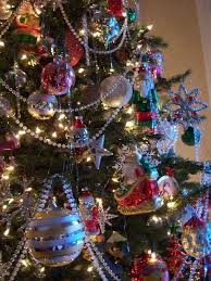Christmas Tree Garland Beads Lights Decoration Within