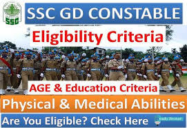 Ssc Gd Constable 2019 Physical Eligibility Criteria