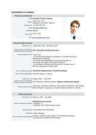 Official Resume Format No A Formal Resume Format Doc Resume Letter