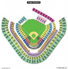 Angel Tickets Seating Chart The Awesome Angel Stadium Seating Chart Seating Chart