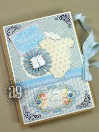 Baby Albums Graphic 45 Precious Memories Baby Mini Album Lots Of Photos And