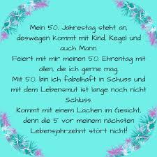 Sprüche Einladung 50 Geburtstag Mann Text Einladung