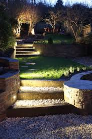outdoor stair lighting lounge. Fabulous Beautiful Outdoor Stair Lighting Lounge Garden Staircase Figures Pebbles Tile Intended Design Decorating With Outside Lights R
