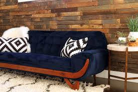 Navy Blue Living Room Set Navy Blue Velvet Couch With Exotic Adrian Pearsall Style
