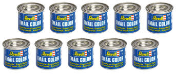 10 Revell 14ml Enamel Paints For Models You Can Choose The Colours