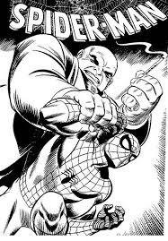 Kleurplaat Spiderman 3