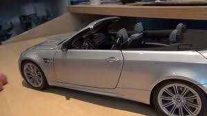 Coupe Series 2012 bmw m3 convertible : 1 18 Kyosho BMW M3 convertible Review - YouTube