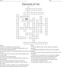 Floral Design Basics Principles And Elements Principles And Elements Of Floral Design Crossword Wordmint