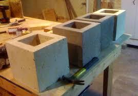 Concrete planter variations