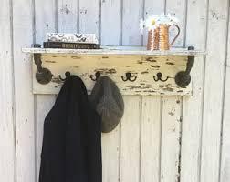 Rustic Entryway Coat Rack Entryway coat rack Etsy 95